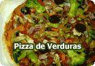 Pizza vegetariana :: receta vegetariana