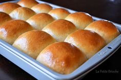 Homemade King's Hawaiian Bread!!! These rolls were super easy to make and delicious! The only change I made was heating up the pineapple juice to 105 degrees so the yeast would work,  and I used rapid rise yeast instead of regular! Will make these over and over!! Everyone raved about them at dinner tonight and asked for the recipe!!