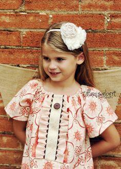 Amelia Peasant Dress