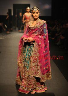 myShaadi.in > Indian Bridal Wear by Ritu Kumar dress collection, wedding dressses, fashion, bridal collection, indian bridal wear, color combinations, ritu kumar, ritukumar, wedding outfits