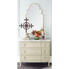 Wisteria - Mirrors & Wall Decor - Mirrors - Antiqued Moroccan Mirror - $259.00