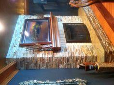 fireplac makeov, fireplaces, stone, rock, fireplac idea, fireplace makeovers