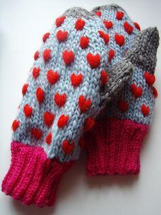 <3 mittens! (knit)