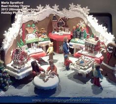 Maria Spratford - Best Holiday Theme Award - 2013 Ultimate Gingerbread Holiday Photo Contest
