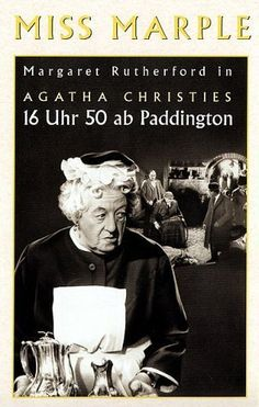 Margaret Rutherford's Miss Marple.