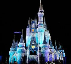 holiday, walt disney, cinderella castl, christmas, castles, place, thing