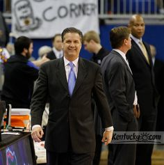 KY @ Florida  March 4, 2012  A lot to smile about with this great team!