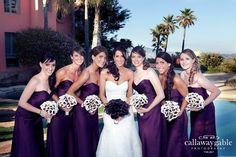 Flowers, Purple, Dress