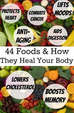 List of 44 Foods That Heal