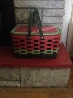 Longaberger watermelon basket