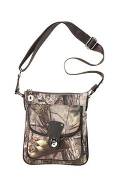 Camo Snap Messenger Bag for Ladies - Realtree APG™ | Bass Pro Shops