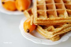Loquat Peach Waffles - not too sure about these, but I'll save the recipe