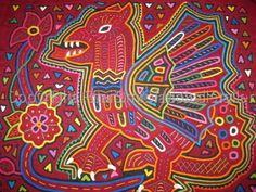 huipil panama, panamanian mola, kuna mola, mola design, blas panama, blas mola, larg mola, mola art, appliqué art