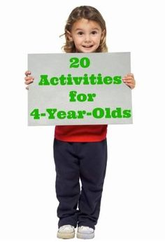 Tons of easy things to entertain and get play started with 4-year-olds