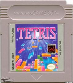 Gameboy Tetris! They only game I played