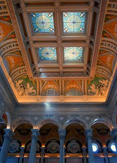 Library of Congress, Washington DC - DC trip in April 2007.  My dream library.