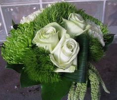"Read: ""Learn To Make Flower Arrangements You Can Be Proud Of""   Image: www.flymetothemoonflorists.com #floral arrangements #green flowers #flowers"
