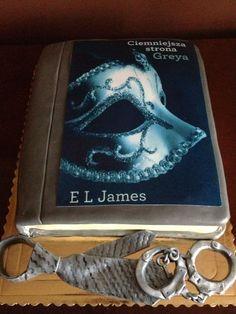 Book cake- Fifty shades. Darker. — Books