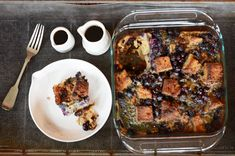Blueberry French Toast Casserole | Paleo Mothers Day Recipe