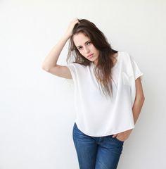 square top shirt