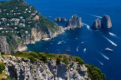 Blue by Francesco Riccardo Iacomino, via 500px blue, beauti place, landscap photographi, riccardo iacomino, capri, landscape photography, bella italia, travel, italy