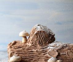 Joy the Baker – Chocolate Peppermint Icebox Yule Log Cake