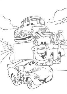 Disney Cars Coloring 8