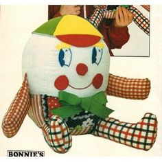 Free Humpty Dumpty Knitting Pattern : Grannys Sewing Room on Pinterest Vintage Sewing, Vintage Sewing Patter...