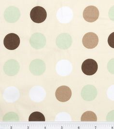Nursery Fabric-Monkey Multi Dot: nursery fabric: fabric: Shop | Joann.com