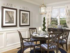 dining rooms, wall art, coastal live, dine room, design detail, florida hous, coastal decor, dining room colors, coastal design