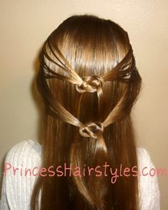 Cute hair idea -celtic knot tutorial