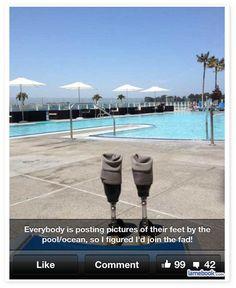 Poolside Prosthetics