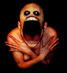 He waits for you down in the cellar, just go to him now, he just wants to say hi. . .