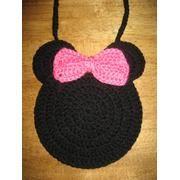 Free Crochet Mickey Mouse Purse Pattern : Crochet Mickey & Minnie on Pinterest Minnie Mouse ...