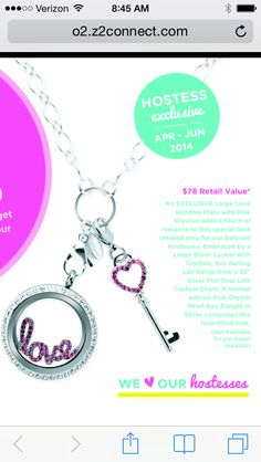 Look at this lovely little beauty makes you want to host a show April-June Hostess Exclusive for Origami Owl!! cathygough.origamiowl.com Host, shop or Join my team!! Senior Team Leader Cathy Gough