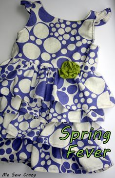 Me Sew Crazy free dress pattern and tutorial