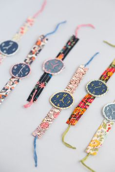 DIY Fabric Watches