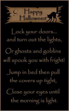 spooky poetry