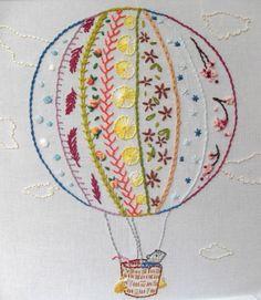 Abel the Stitch Explorer Sampler Hand Embroidery PDF pattern. $6.00, via Etsy.