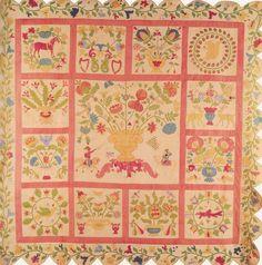 Baltimore Album Quilt, 1850. Maryland.