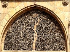 Sidi Saiyad Ni Jali - built in 1573-Ahmedabad - Gujarat