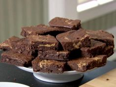 Peanut Swirl Brownies : Food Network - FoodNetwork.com