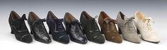 Oxfords, Thomas: ca. 1927, British, leather.