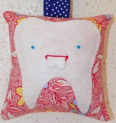 Buck Tooth Fairy Pillow by busybonniebee on Etsy, $12.00