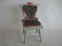 RARE  Vtg. StartAHomeFor Alexanderkins Doll Chair  by TheToyBox, $125.00