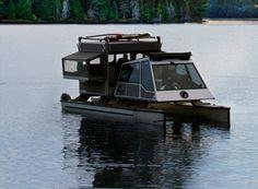 pop up pontoon boat