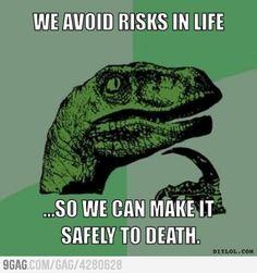Why do we avoid risks?