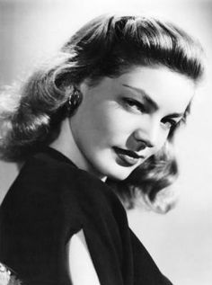 Lauren Bacall: the lady and 'The Look' on