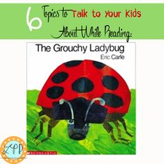 The Grouchy Ladybug Handprint Craft & 6 Quick Lessons for Kids | A Little Pinch of Perfect