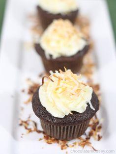 Award Winning Chocolate Coconut Cupcakes